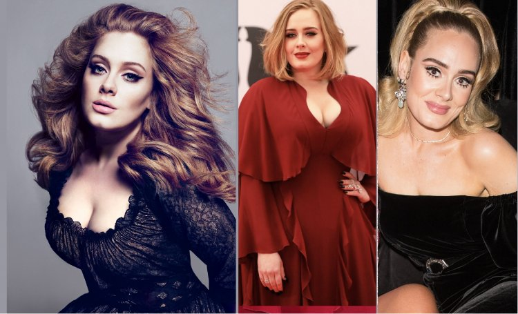 Adele unrecognizable after 20kg weight loss In Oscar Party ...